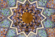 Islamic Art / Mainly consists of Islamic geometry