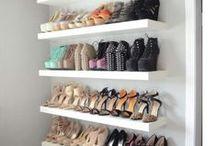 Shoe storage space
