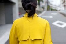 Manteau jaune / Comme des poussins