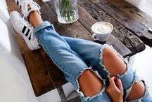 Ripped jeans : a passion / Déchiré, mais pourvu qu'il soit totalement destroy !