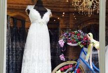 Our shop windows / http://www.carinabcouture.com/