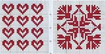 Blackwork/ Redwork/ *Work / Embroidery patterns and interesting projects for black/redwork