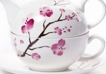 Ceramic Teaware / Elevate your afternoon tea by serving it in beautiful teaware.
