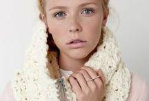 Bulky Yarn & Patterns / Beautiful projects, knit & crochet from bulky yarns!