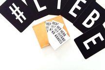 Buchstaben-Liebe / Seid ihr auch schon im Type Hype? Pimpt euer Zuhause mit Buchstaben.
