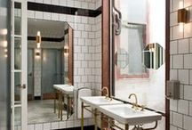 Public Restroom Design Inspiration / Do your building's public restrooms reflect the personality of your business?