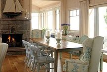 HOME: DINING AREAS / Any type of eating space with tables and chairs! / by Lori Montgomery