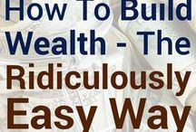 How to Create Wealth - everything related to investing smart / How to create wealth - inspiring and actionable content to invest smart, create wealth and to take action now.  Pin your articles related to investing (real estate, stocks, bond, etc). Make sure you Pin no more than 2 a day. If you want to be included on this board shoot me an email at 1) tracyma at financialnirvanamama.com, 2) follow me (financialmama) + this board. Please pay it forward by repinning other's posts to your own boards. Uncool to not follow rules.