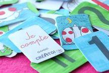 DECOUPAGES  ENFANTS FACILES / Je Recycle, Je crée avec CRÉATOI,  www.creatoi.fr le site original et gratuit d'activités manuelles pour les enfants.