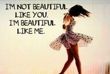 Beauty / God made you beautiful.