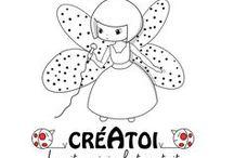 COLORIAGES ENFANTS - NOEL ANIMAUX VOITURES FÉES / coloriages originaux de www.creatoi.fr le site original et gratuit d'activités manuelles pour les enfants.