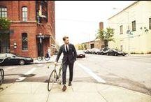 Gents & Bikes / fixed speed bikes, fixed gear bikes, mens, style, fashion, sartorial, street style, london,