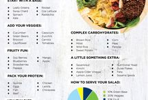 Healthy lunches and snacks