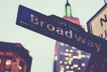 Broadway: The Great White Way / by Marisa Lim