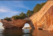 St. Ignace Michigan  / A collection of images showing the beauty of St Ignace