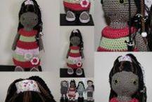 crochet dolls, my patterns / patronen verkrijgbaar op http://pluboky.blogspot.nl/