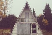 A-Frame & Organic Architecture / Organic Architecture - Simple living & home designs