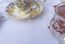 Bridal Shower vintage ideas / hire vintage crockery for an intimate bridal shower for your bridesmaids, family and friends