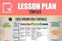 Lesson Plans / Great tips for teachers who want to improve the learning process in their classrooms!