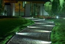 Garden - lawns, driveway, fences