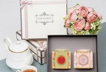 Beautiful Girly Tea Caddies
