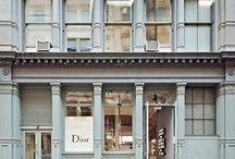 fashion house facade