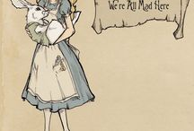 Alice in wonderland garden