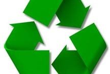 Reuse, Reduce, Recycle, and the Environment / Conservation and Positive Change / by Julia G