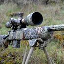 "Rifle Skin / Rifle Skins are high-performance vinyl wraps that can be applied to any rifle. They are waterproof and have an ultra-matte finish. Rifle Skins conform to any shape and are easy to install. They are removable and leave no residue behind. Rifle Skins are available in a variety of tactical, hunting and traditional camouflage patterns. Our Rifle Skin kits come with 5 pre-cut pieces and fit most rifles with a barrel under 29""."