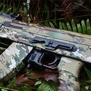 AK-47 Rifle Skin / AK-47 Skins are high-performance vinyl wraps that can be applied to any AK-47. They are waterproof and have an ultra-matte finish. AK-47 Skins conform to any shape and are easy to install. They are removable and have no effect on the finish. AK-47 Skins are available in a variety of tactical, hunting and traditional camouflage patterns. Our AK-47 Skin kits come with pre-cut pieces for the receiver, dust cover, pistol grip, and one set of mag skins.