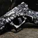 Pistol Skins / Pistol Skins are high-performance vinyl wraps that can be applied to any pistol. They are waterproof and have an ultra-matte finish. Pistol Skins conform to any shape and are easy to install. They are removable and have no effect on the finish. Pistol Skins are available in a variety of tactical, hunting and traditional camouflage patterns. Our Pistol Skin kits come with pre-cut pieces.