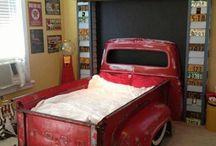 Repurposing with old cars,etc.