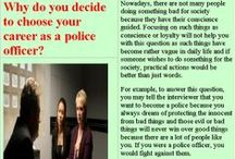 police clerk interview questions