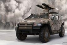 military vehicle / military vehicle