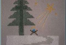 Christmas - Karácsony - Weihnachten-free / cross stitch freebies - keresztszemes minták