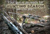 Hunting / The right camouflage is an essential part of having a great hunting experience. We offer top of the line hunting patterns for your guns and gear at www.gunskins.com.