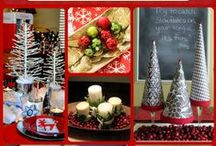 Centerpiece Central / #Christmas #centerpiece ideas catered to your family's #holiday style!