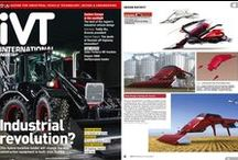 harvester combine, tractor / Concept of the future, harvester combine