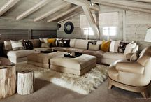 Chalet Luxe / Luxury chalet interior design