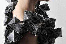 Fashion Origami project / A project for my portfolio, using origami