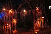 Halloween Lighting / Awesome lighting ideas for a scary Halloween