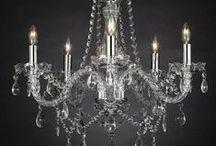 Fancy Chandelier / Shiny, elegant, modern... all kinds of chandeliers!
