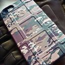 Phone Skins / GunSkins do-it-yourself cell phone wraps are a great way to customize your smartphone.  Phone Skins add camo or style to your iPhone and can be installed in less than 5 minutes. Our iPhone Skins are pre-cut to fit perfectly on Magpuls Bump and Field cases. iPhone Skins are available for Apple's iPhone 5/5s or iPhone 6/6s. The vinyl kit comes with pre-cut pieces for the back and the sides.
