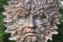 greenman / The green man of the woods from myth and legend