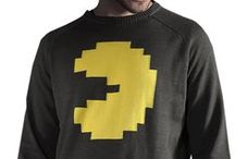 Retro Styles / Classic video-games translated in real-life fashion. #retro #fashion #musterbrand #pac-man #half-life