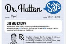 Dr. Hutton Says! / Read Aloud 15 MINUTES is proud to partner with Dr. Hutton — adding his knowledge, expertise, passion and voice to spread our urgent message: Read Aloud 15 MINUTES. Every child. Every parent. Every day.
