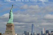 Estados Unidos / Viagem para os EUA, mochilão, intercâmbio, dicas de viagem, las vegas, califórnia, disney, orlando, disneyland, arizona, new york, nova iorque, new jersey