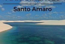 Maranhão / Viagem para o Maranhão. São Luís, Alcântara, Lençóis Maranhenses, Barreirinhas, Atins, Santo Amaro, Chapada das Mesas.