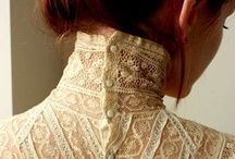 Lovely Lace / The best lace in the world-usually from Calais-is like nothing else. The intricacy of vintage french lace makes us weep.