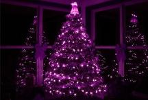 Purple Christmas Wishes